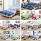 Bed Sheet Floral Printed Cotton Twin Full Queen King Bed Sheet and Pillowcase image