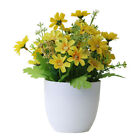 1Pc Artificial Potted Flower Garden DIY Party Home Holiday Xmas Craft Decor Call