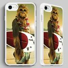 Chewbacca Star Wars Surfing QUALITY PHONE CASE COVER for iPHONE 4 5 6 7 8 X $8.59 USD on eBay