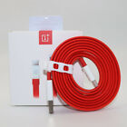 Original ONEPLUS 6T Dash Charger Adapter 100/150CM Red USB 3.1 Type-C Dash Cable