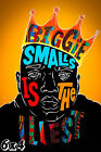 Biggie Smalls 'Biggie Smalls Is The Illest' Poster or Art Print