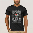Triumph Motorcycle Biker retiremnet plan Custom Mens tee 100% Cotton t shirt $24.99 USD on eBay