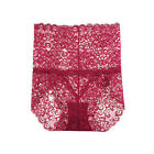 Plus Size Sexy Women Seamless Lace Underwear High Waist Ladies Panties Briefs