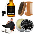 Beard Oil for Men - Grooms Beard, Mustache, Boosts Hair Growth - Beard Whole Set