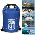 PVC 10L 20L Outdoor Diving Compression Storage Waterproof Bag Dry Bag Men Women