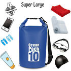10L/20L Swimming Waterproof Camping Rafting Storage Dry Bag, w/Adjustable Strap