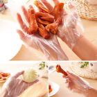 100pcs Disposable Plastic Gloves for Cooking Cleaning Food Handling Hair Dying