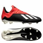 adidas X 18.3 FG 2018 Soccer Shoes Cleats Black - Red Kids - Youth