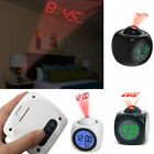 Digital Projection Alarm Clock Multifunction With Voice Talking LED Temperature