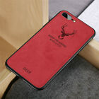 Cloth Deer Sewing Thread Case For iPhone 6 S Plus 7 Plus 8 Plus XS XR Max Fabric