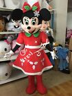 Christmas Mickey Mouse Minnie mascot costume fancy dress Adult birthday handmade