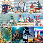 Full Drill Beach View DIY 5D Diamond Painting Cross Stitch Kits Home Decor Art $10.98 USD on eBay