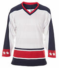 CCM Columbus Blue Jackets Adult Practice Jersey Away $17.75 USD on eBay