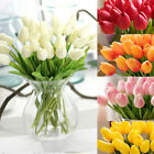 Artificiali falsi tulipani fiori finti Bouquet Room Home Garden Store Decor
