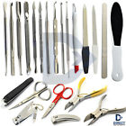 Manicure Pedicure Tools Kits Cuticle Pusher Nipper Cutter Cleaner Nail Grooming