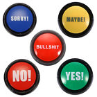 Bullshit Maybe No Sorry Yes Sound Talking Button Home Party Funny Gag Toy Beamy