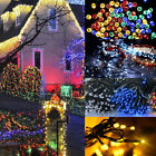 22m 200 LEDs Solar Powered Solar Power Fairy String Light Party Xmas Wedding UK