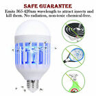 Bug Zapper Light Bulb Mosquito Lamp Fly Trap Killer Indoor Outdoor Insect