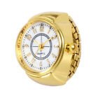 Unisex Classic Ring Watches Creative Stainless Steel Cool Quartz Analog Watch UK
