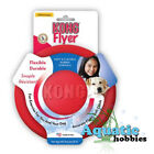 Kong Classic Flyer Toy For Dog Puppy Fetch Frisbee Disc Soft Rubber Choose Size