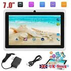 """7"""" Smart Tablet Pc Android 4.4 Camera Quad-core 4gb Wifi Kids Gift Uk Stock"""