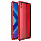 Luxury Metal Thin Case Tempered Glass Bumper For Huawei Honor 8X Max Note 10