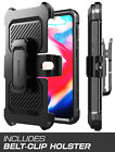 SUPCASE OnePlus 6T Case Full-body Cover Holster with Kickstand Screen Protector