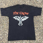 NEW VTG 1994 The Crow shirt GILDAN BLACK T SHIRT AMERICAN SIZE S-2XL^ OK** image