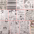 Kyпить Girl Transparent Silicone Clear Stamps DIY Scrapbook Embossing Card Art Flower на еВаy.соm