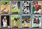 2009 Topps Update Complete Team Set Rookie Card Logo RC Base Set Traded Updated
