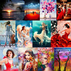 DIY Women Paint By Number Kit Acrylic Art Oil Painting On Home Wall Decor
