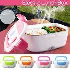 Portable Electric Heated US Plug Heating Lunch Box Bento Travel Food Warmer 110V