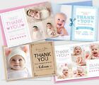 Personalised New Baby Thank You Cards Photo Birth Announcement Girl or Boy