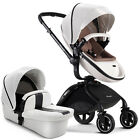 Baby Stroller 3 in 1 Infant buggy High Landscape pushchair Bassinets&car seat DS