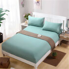 Sheets Simple Cotton Solid Color Close-Fitting Comfort Multi-Color Hotel Bedroom image