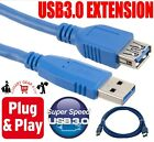 Kyпить USB 3.0 USB3.0 SUPER SPEED EXTENSION CABLE LEAD EXTENDER MALE TO FEMALE CORD UK на еВаy.соm
