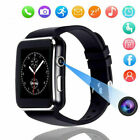 2019 X6 Smart Wrist Watch Bluetooth GSM Phone For Android Samsung LG Sony Iphone
