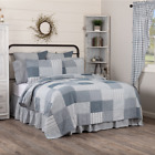 SAWYER MILL BLUE QUILT SET & ACCESSORIES. CHOOSE SIZE & ACCESSORIES. VHC BRANDS image