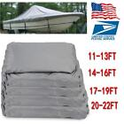 600D Oxford Cloth Waterproof Heavy Duty Fabric Trailerable Boat Cover Gray 4Size