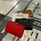 Michael Kors Women Bifold id Wallet Credit Card Coin Holder Leather Purse Clutch