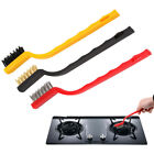 3PCS Gas Stove Cleaning Wire Brushes Kitchen Tools Iron Metal Fiber Brush