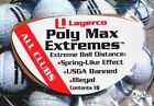 Illegal golf product Poly Max Extremes for Cobra F9 Speed back drivers