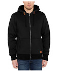 Buffalo David Bitton Men's Sherpa Lined Full Zip Hoodie Jacket