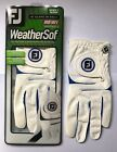 Brand New Footjoy Weathersof Golf Glove LH for RH Player Womens Sizes: S,M,ML,L