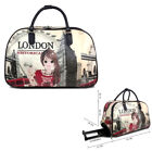 Ladies London Holdall Weekend Bag Big Ben Trolley Hand Luggage Travel Handbag