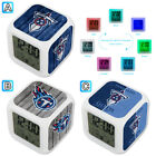 Tennessee Titans Digital LED Clock Multi Color Changing Alarm Desk Decor on eBay