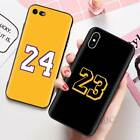 Basketball Lucky Number Phone Case For iPhone 6 6S 7 8 Plus X XS Max XR 11 Pro