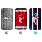 Washington Capitals Leather Flip Case For iPhone X Xs Max Xr 7 8 Galaxy S9 S8 $7.99 USD on eBay