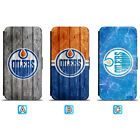 Edmonton Oilers Leather Flip Case For iPhone X Xs Max Xr 7 8 Galaxy S9 S8 $7.99 USD on eBay