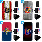 Florida Panthers Leather Flip Case For iPhone X Xs Max Xr 7 8 Galaxy S9 S8 $7.99 USD on eBay